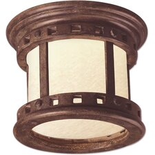 Santa Barbara ES 1 Light Outdoor Flush Mount