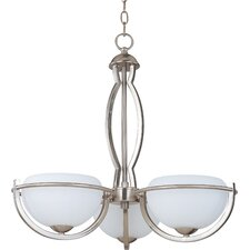 Cupola 3 Light Chandelier - Energy Star