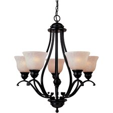 Sandorini 5 - Light Single - Tier Chandelier