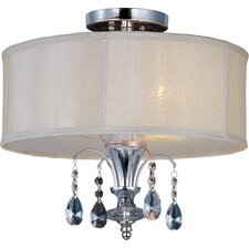 Bradford 3 - Light Semi - Flush Mount