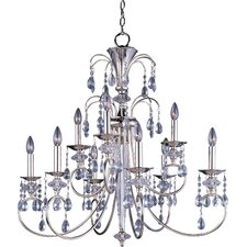 Bradford 9 - Light Multi - Tier Chandelier