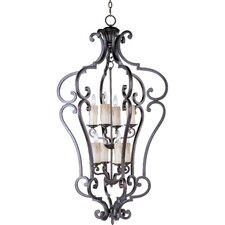 <strong>Maxim Lighting</strong> Empress 8 Light Foyer Pendant