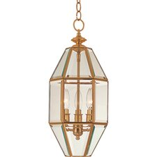 <strong>Maxim Lighting</strong> Bound Glass 3 Light Foyer Pendant
