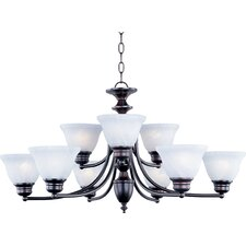 <strong>Maxim Lighting</strong> Malibu 9 Light Chandelier