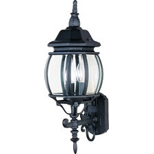Crown Hill 3 Light Outdoor Wall Sconce