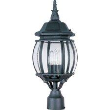 Crown Hill 3 Light Outdoor Post Lantern