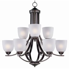 <strong>Maxim Lighting</strong> Axis 9 Light Chandelier