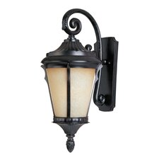 Odessa DC Outdoor Wall Lantern with Arm
