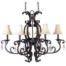 Hailee 6 - Light Mini Chandelier