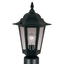 "Builder Cast 1 Light 8"" Outdoor Post Lantern"