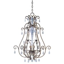 Phirce 6 - Light Entry Foyer Pendant