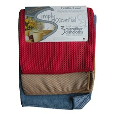 3 Piece Microfiber Dishcloth