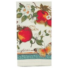 Botanical Apples Terry Kitchen Towel