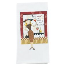 <strong>Kay Dee Designs</strong> Wine Flour Sack Towel