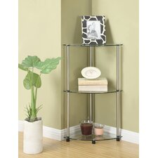 "13.75"" x 31.5"" Classic Three Tier Corner Shelf"