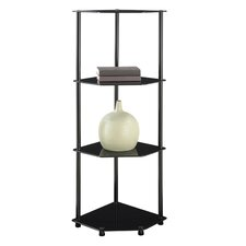 "<strong>Convenience Concepts</strong> Midnight Corner 46.5"" Bookcase"