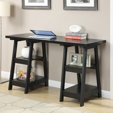 Designs2Go Double Trestle Writing Desk