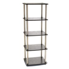 <strong>Convenience Concepts</strong> 5-Tier Media Multimedia Storage Rack