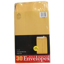30 Count Kraft Envelopes