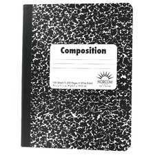 <strong>Norcom Inc</strong> Wide Ruled Composition Notebook