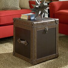 Hidden Treasures End Table Trunk