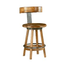 "Americana Home 25"" Swivel Bar Stool"