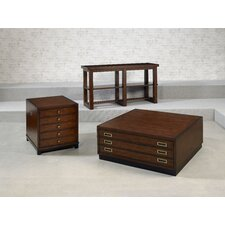 Modern Lodge Coffee Table Set