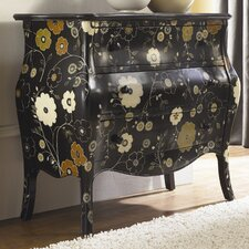 Hidden Treasures Hand Painted 3 Drawer Cabinet