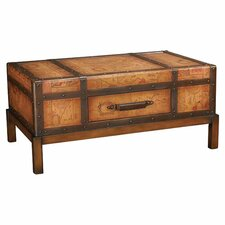 Hidden Treasures Trunk Coffee Table