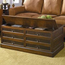 <strong>Hammary</strong> Mercantile Trunk Coffee Table with Lift-Top