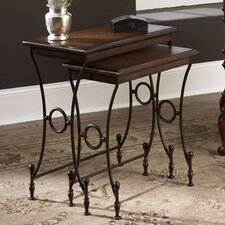 Hidden Treasures 2 Piece Nesting Tables