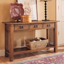 <strong>Hammary</strong> Canyon Console Table