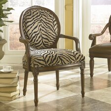 Hidden Treasures Chenille Arm Chair