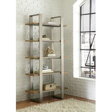 <strong>Hammary</strong> Flatiron 5 Shelf Bookcase