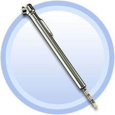 Chrome Accutire Standard Tire Gauge