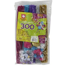 <strong>Fibre-craft Materials Corp</strong> Confetti Big Pack (300 Count)