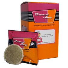 Donut Shop Vanilla Cruller Coffee Pods (18 Pack)