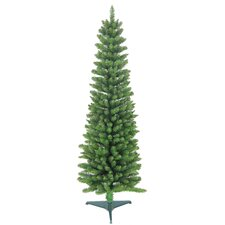 <strong>Jolly Workshop</strong> 6' Green Pencil Artificial Christmas Tree