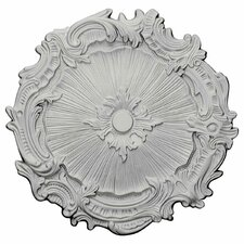 "Plymouth 16.75"" H x 16 3/4"" W x 1.38"" D Ceiling Medallion"