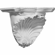 "Shell 7.38"" H x 10.38"" W x 6"" D Decorative Shelf"