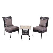<strong>PatioSense</strong> Havasu 3 Piece Dining Set