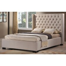 <strong>LuXeo</strong> Newport Wingback Bed