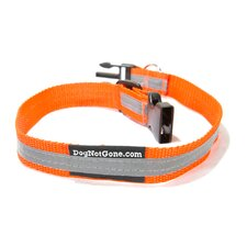 Seen and Secure Reflective Dog Collar
