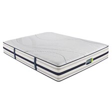 "Beautyrest Recharge Hybrid 12.5"" Memory Foam Luxury Firm Mattress"