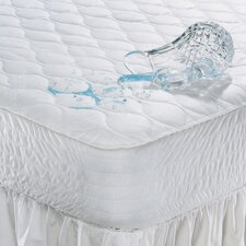 100% Polyester Waterproof Mattress Pad