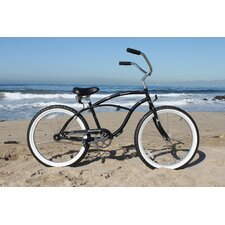 "Men's Urban Man 24"" Beach Cruiser Bike"