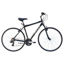 Men's Cross 200 21-Speed Hybrid Bike