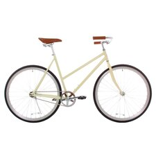 Women's Classic Urban Commuter Single Speed Hybrid Bicycle