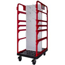 Storage and Stocking Peg Cart Table Dolly