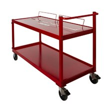 <strong>Opti Cart</strong> 2 Tier Metal Cart
